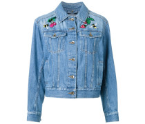 - Jeansjacke mit Patches - women - Baumwolle - 36