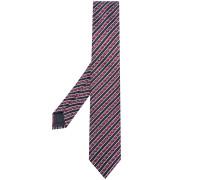 Gewebte Krawatte mit Streifen