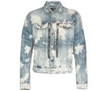 MX2 Jeansjacke mit Bleached-Effekt