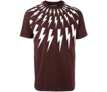 - T-Shirt mit Blitz-Print - men - Baumwolle - XL