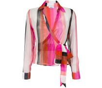 silk envelope blouse