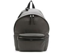 Oversized-Rucksack mit Reißverschlusstasche