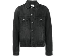 classic beaten up denim jacket