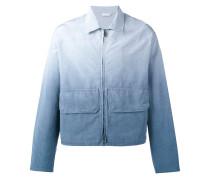 Jacke mit Farbeffekt - men - Viskose/Baumwolle