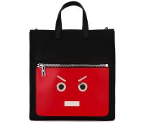 """Shopper mit """"Faces""""-Design - men"""