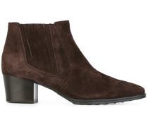 Chelsea-Boots mit mittelhohem Blockabsatz