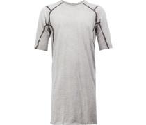 'Inspire' T-Shirt - men - Baumwolle/Kalbsleder