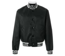 #DGLove logo band bomber jacket