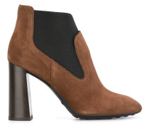 elasticated panel ankle boots
