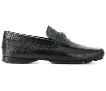 Loafer mit Krokodilledereffekt