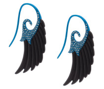 Fly me to the moon wing earrings