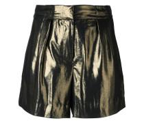 Shorts mit Metallic-Effekt