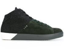 High-Top-Sneakers in Colour-Block-Optik