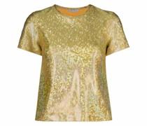 T-Shirt im Glitter-Look