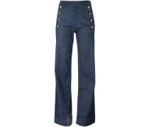 Tommy x Gigi Hadid Jeans mit geradem Bein