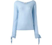 Pullover mit Knotendetails - women - Schurwolle