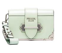 Mini Green Cahier Shoulder Bag