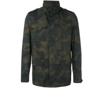 - Military-Jacke mit Camouflage-Print - men