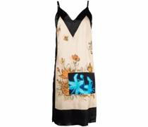 Camisole-Kleid im Patchwork-Look