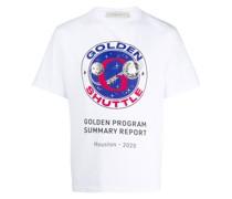 """T-Shirt mit """"Golden Shuttle""""-Print"""