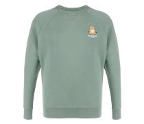 """Sweatshirt mit """"Yoga Fox""""-Stickerei"""