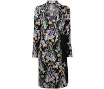 Tiffany Bali Flower-print silk dress