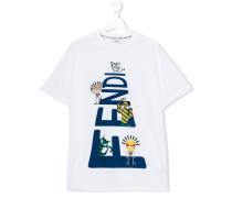 teen printed T-shirt - kids - Baumwolle - 14 yrs