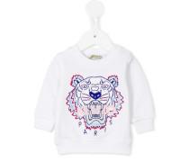 Sweatshirt mit Tigerstickerei