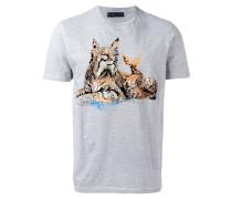 - T-Shirt mit Katzen-Print - men - Baumwolle - S