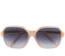 Oversized-Sonnenbrille mit Logo - women