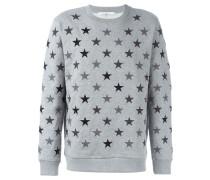 Sweatshirt mit aufgestickten Sternen