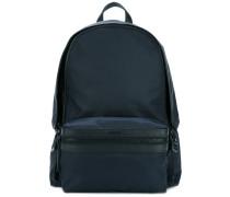 zip around backpack - men - Leder/Nylon