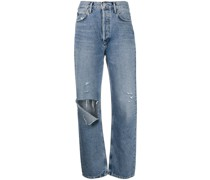 Boyfriend-Jeans in Destroyed-Optik