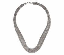 Halskette in Häkeloptik