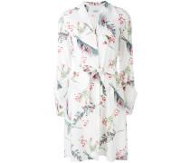 Seidenhemdkleid mit Print - women - Seide - 36