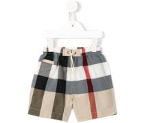 new classic check swim shorts