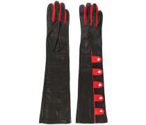 Handschuhe mit Knöpfen