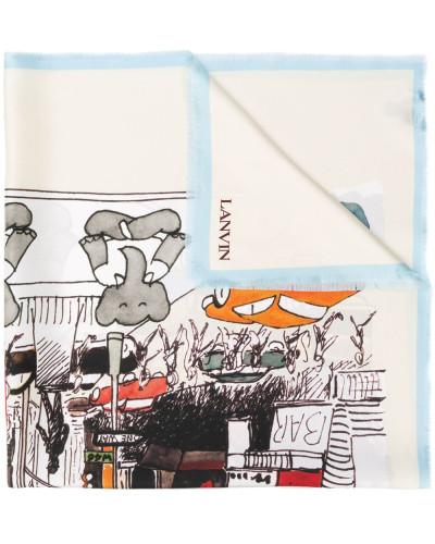 'Babar The Elephant' Schal mit Print