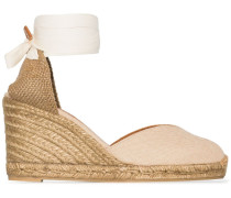 'Chiara' Wedge-Espadrilles, 80mm
