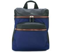 Strukturierter Rucksack mit Vorderfach - men