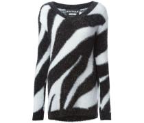 Pullover mit Zebramuster