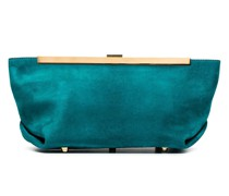 The Aimee suede clutch