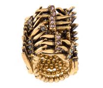strass embellished ring