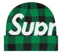 Beanie mit großem Logo
