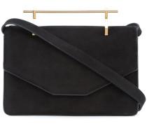 top handle envelope clutch