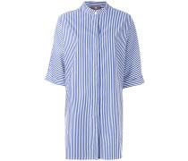 Gestreiftes Pyjamahemd