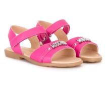 logo sandals