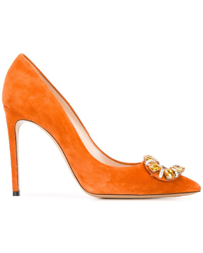 Verzierte Stiletto-Pumps