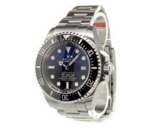 'Sea-Dweller Deepsea D-Blue' analog watch