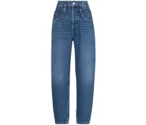 '80s high rise cropped jeans